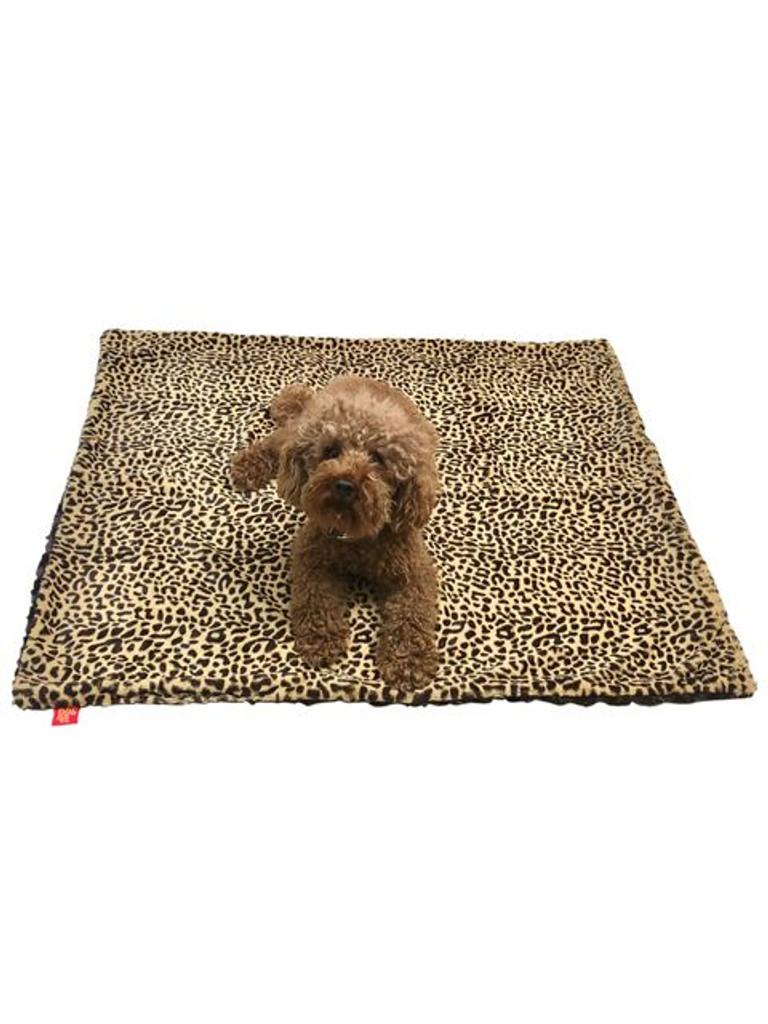 Medium Blanket, Brown Cheetah