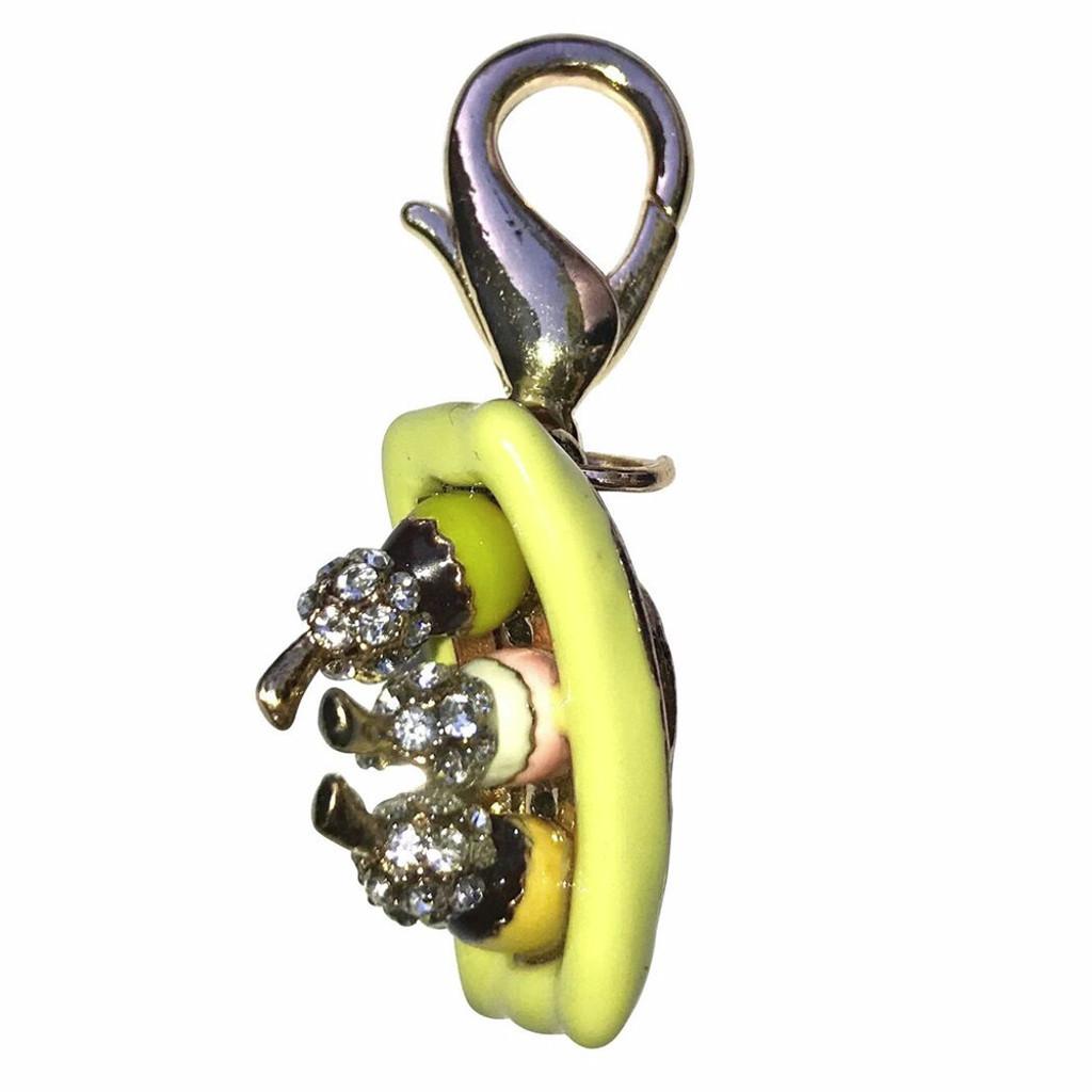 Banana Boat Dog Collar Charm