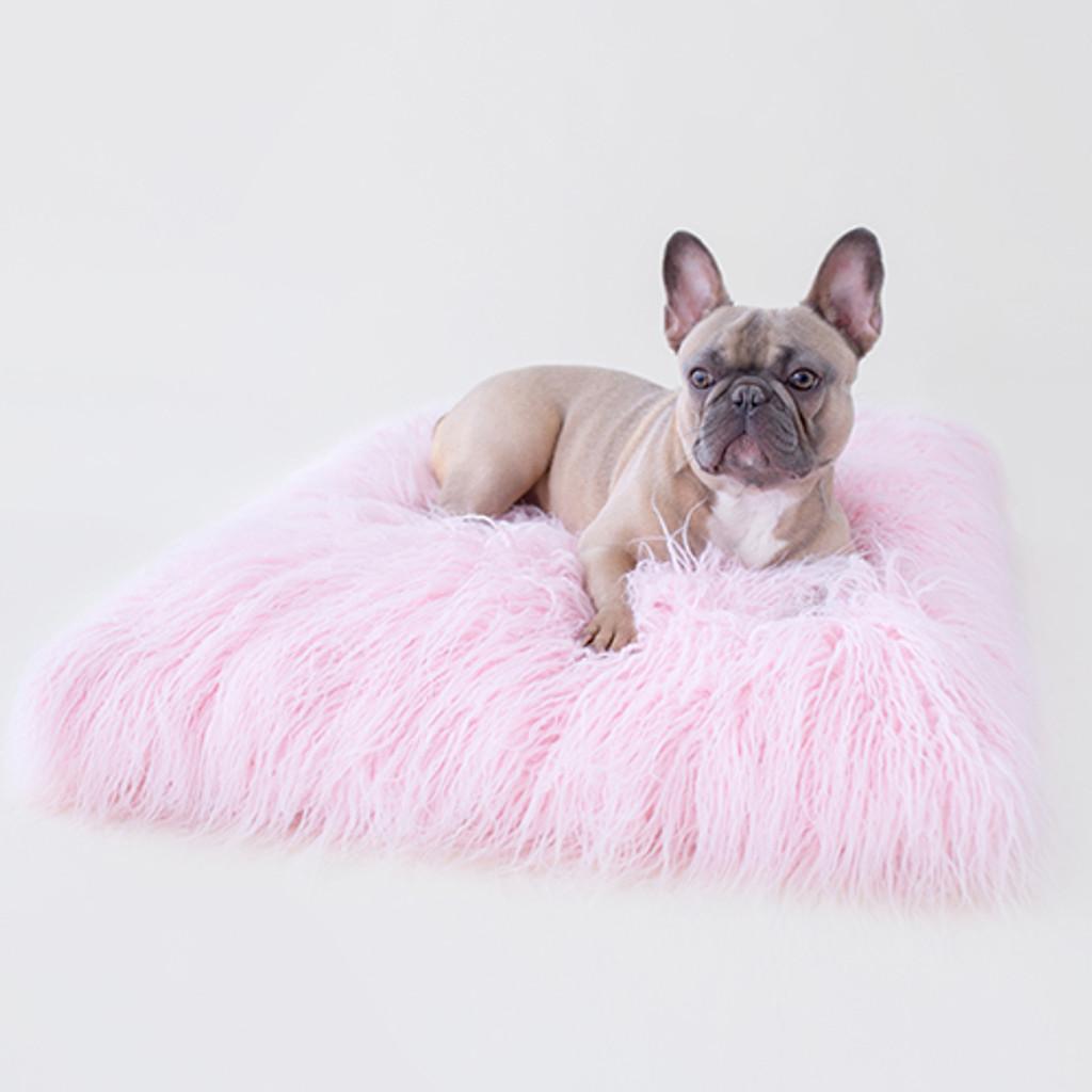 Himalayan Yak Dog Mat: Ballerina Pink