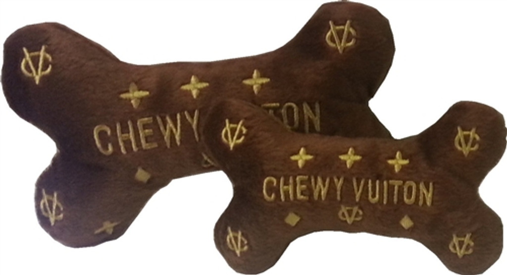 Chewy Vuiton Bone Toy