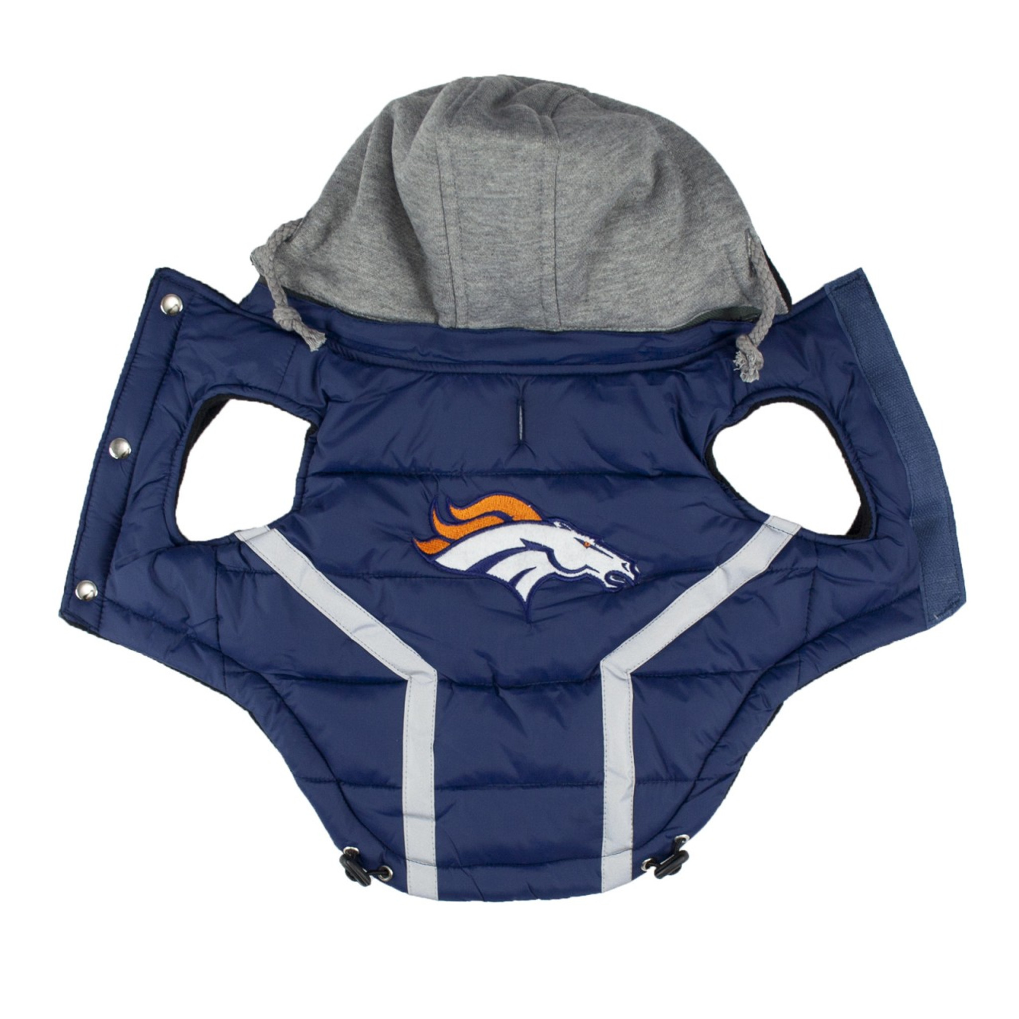 buy online a2ed1 2bb46 NFL Denver Broncos Dog Puffer Vest