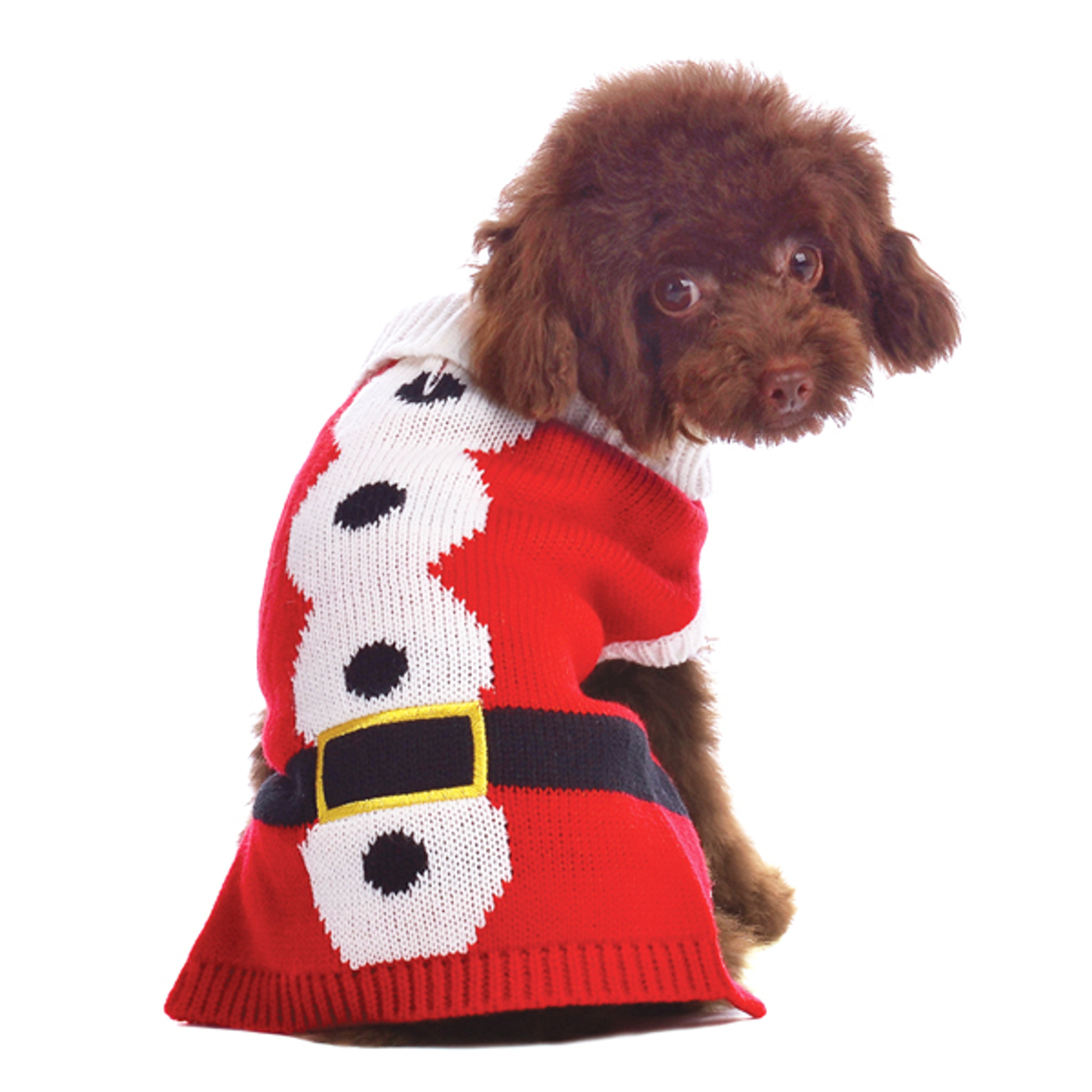 Christmas Sweaters For Dogs.Christmas Santa Sweater