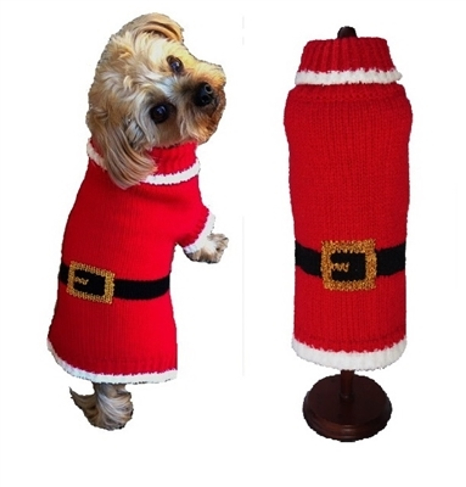 Christmas Sweaters For Dogs.Santa Paws Christmas Sweater