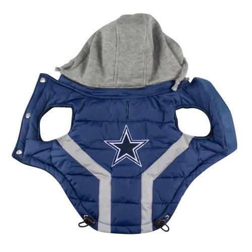 Hip Doggie Dallas Cowboys Dog Puffer Vest