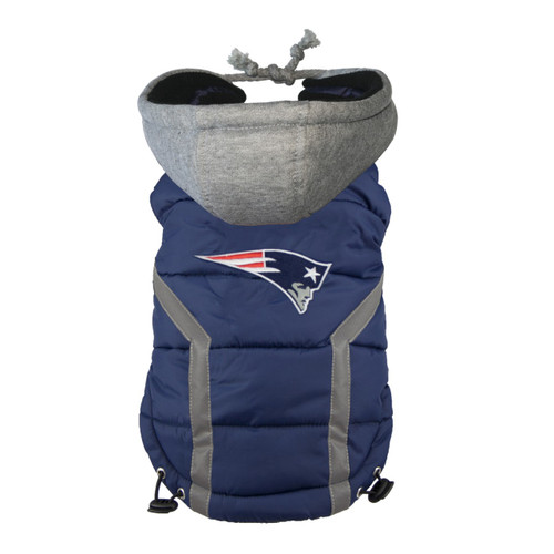 NFL New England Patriots Dog Puffer Vest