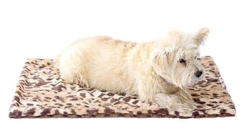 Brown Leopard Minkie Binkie Blanket