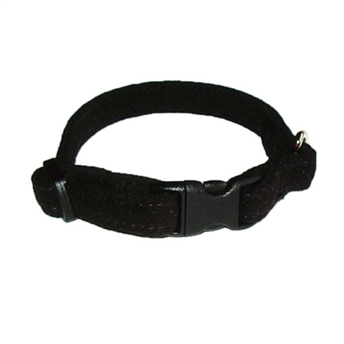 Black Celebrity Quick Release Ultra Suede Collar