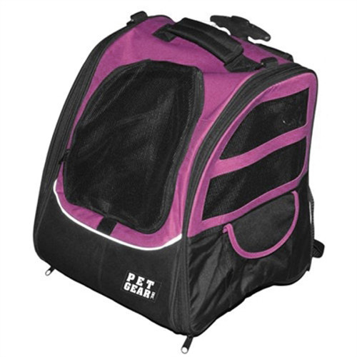 Pet Edge I-GO2 Traveler Dog Roller-Backpack - Pink