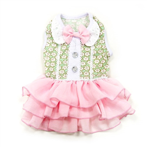 Dot N Ruffle Dress