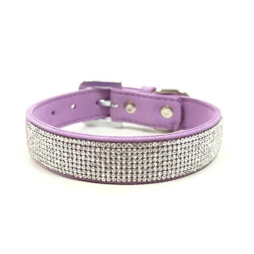 Purple VIP Bling Collar
