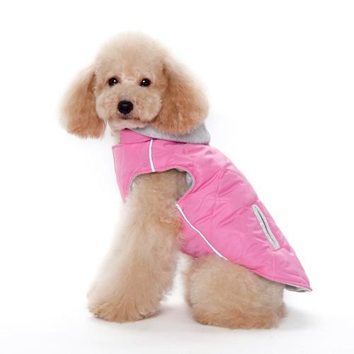 Pink City Puffer Jacket