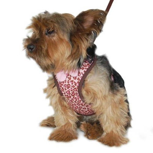 EasyGo Leopard Harness - Pink