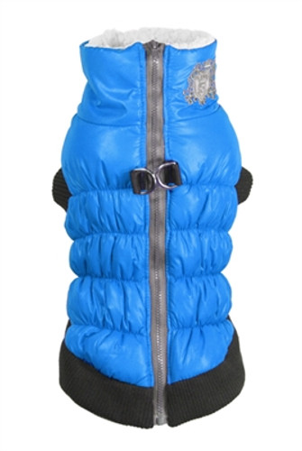 HD Crown Puffer Vest - Blue