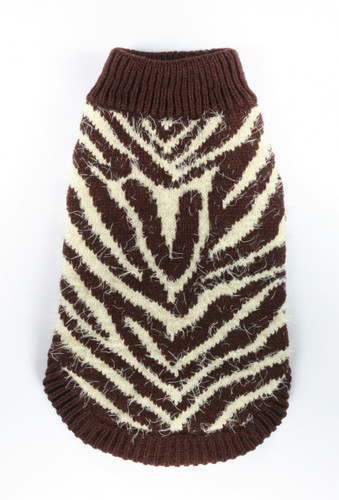 FeatherSoft Zebra Sweater