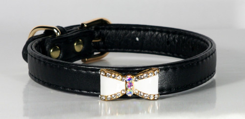 Black Bow Collar.