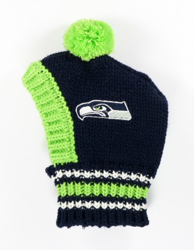 NFL Knit Pet Hat - Seahawks