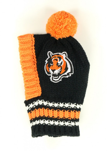 FL Knit Pet Hat - Bengals