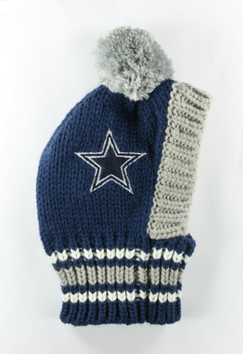 NFL Knit Pet Hat - Cowboys