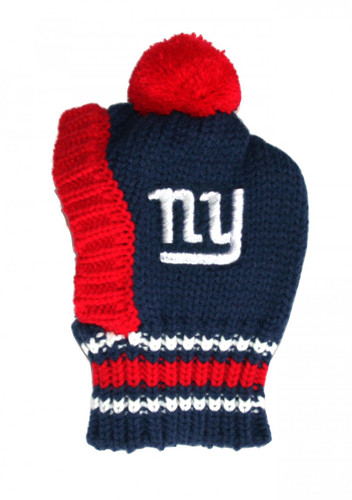 NFL Knit Pet Hat - Giants
