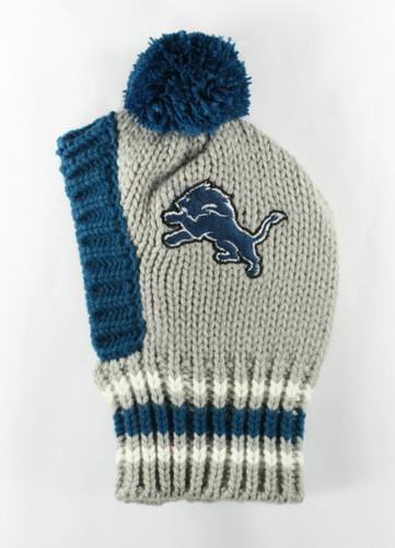 NFL Knit Pet Hat - Lions