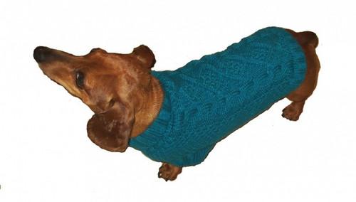 Irish Knit Turquoise