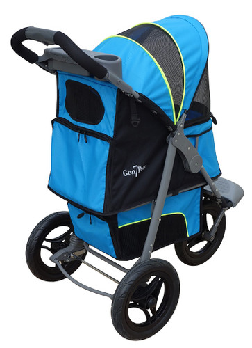 Blue G7 Jogger™ Stroller for pets up to 75 lbs.