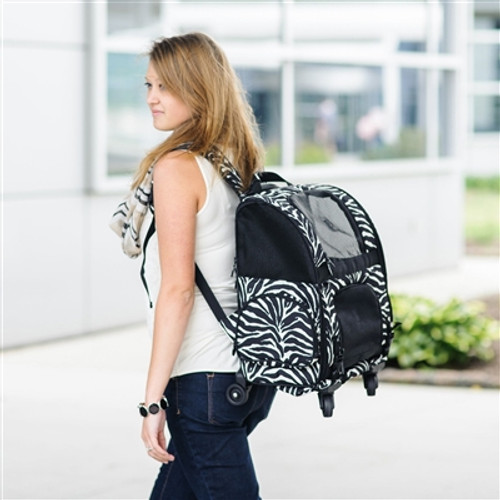 Zebra RC1000 Roller-Carrier for Pets up to 10lbs.