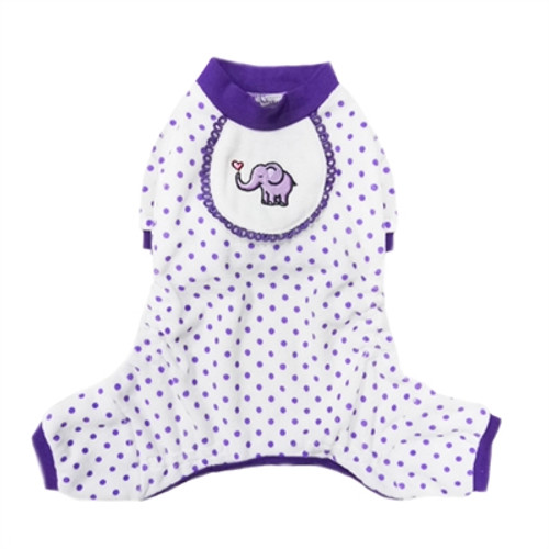 Elephant Pajama in Purple