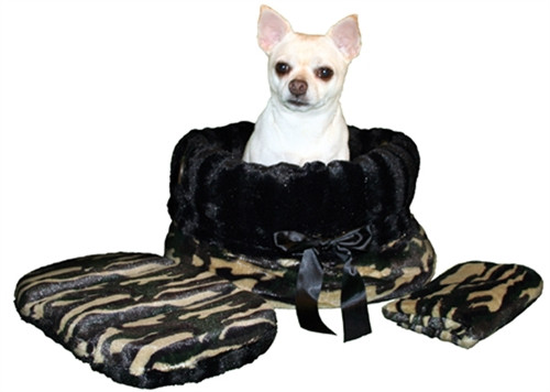 Camo & Black Reversible Snuggle Bug