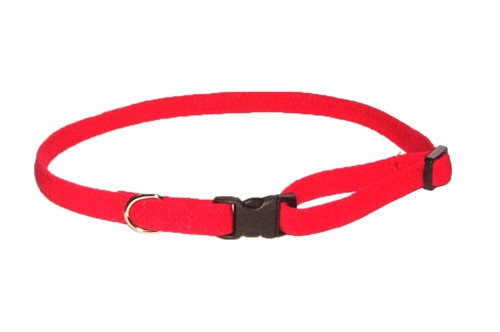 Red Celebrity Quick Release Ultra Suede Collar