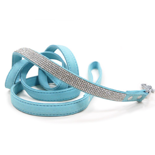 VIP Bling Leash - Blue