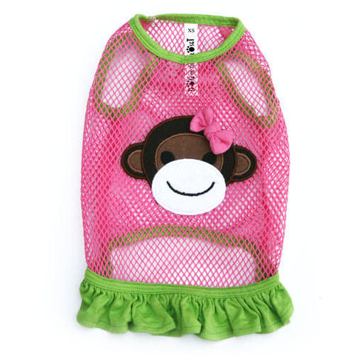 The Lahaina Collection - Fishnet Monkey Dress