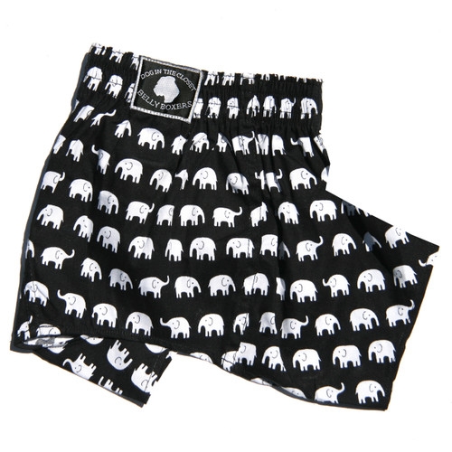 Belly Boxers for Dogs - Elephant
