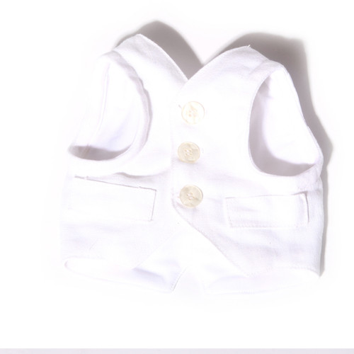 The Wyatt Linen Harness Vest