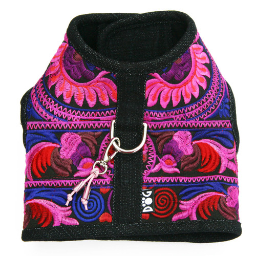 The Lanna Collection - Fuchsia Harness Vest