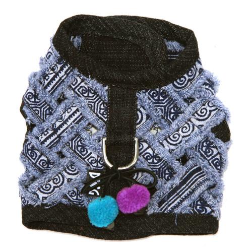 The Venice Frayed Harness Vest