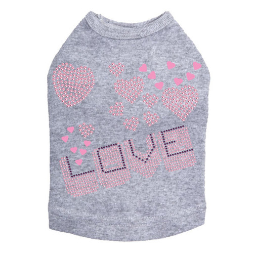 Love Pink & Purple - Dog Tank