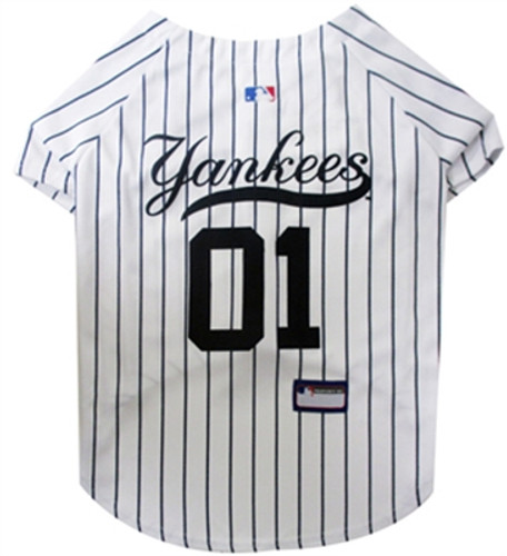 New York Yankees Dog Jersey - Pinstripe