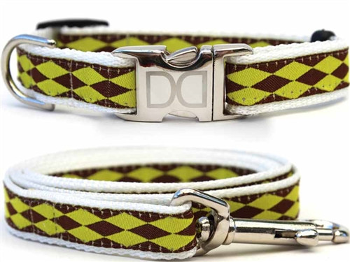 Harlequin Collection - Green All Metal Buckles