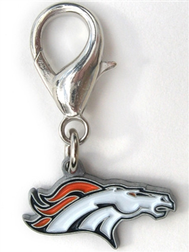 NFL Licensed Denver Broncos Team Logo Charm
