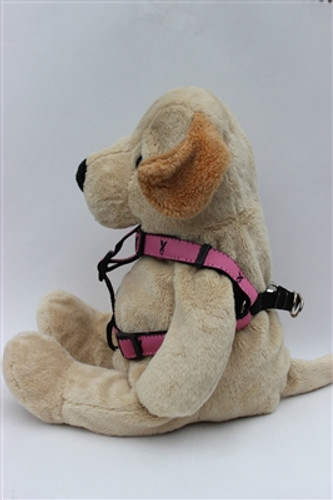 Cancer Awareness Pink Harness All Metal Buckles