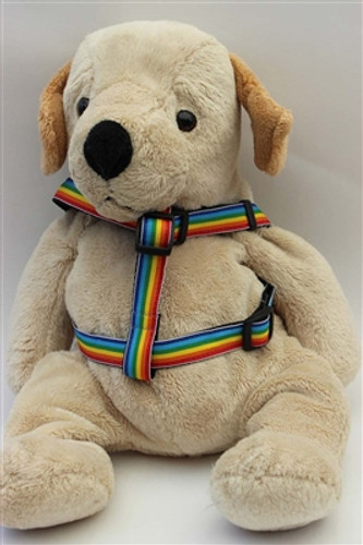 Rainbow Collection - Step In Harnesses All Metal Buckles