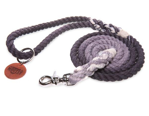 Pearl Grey Ombré Dog Leash