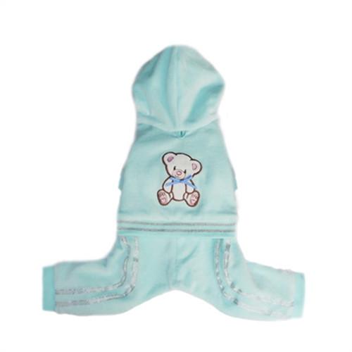 Teddy Bear Tracksuit - Tiffany Blue