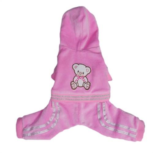 Teddy Bear Tracksuit - Pink