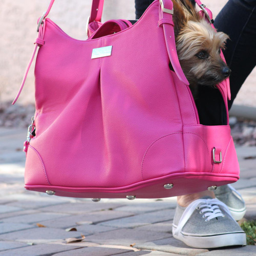 Mia Michele - Pink Yarrow Carry Bag