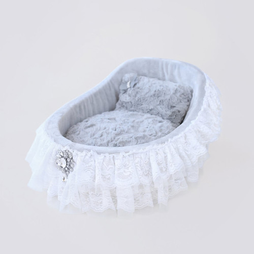 Crib Collection Dog Bed: Sterling