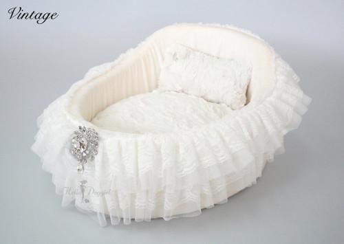 Crib Bed - Vintage