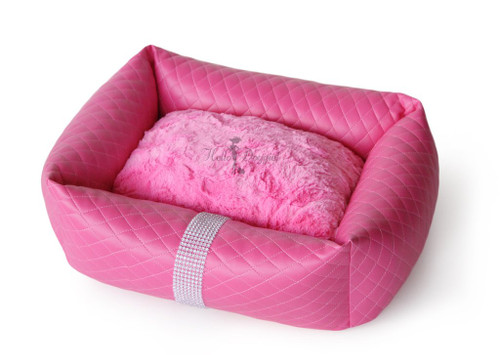 Liquid Ice Luxury Bed - Fuchsia