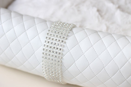 Liquid Ice Luxury Bed - White